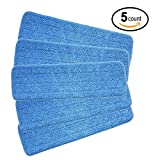Love shops Microfiber Spray Mop Replacement Heads for Wet/Dry Mops by Re-Up Compatible With Bona Floor Care System (5 Pack)