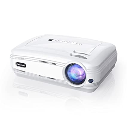 Excelvan Home Theater Projector Android 6.0.1 Support 3D 1080P WiFi BT 1GB+8GB