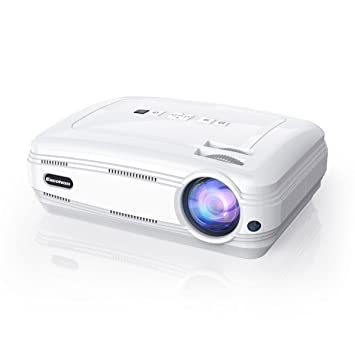 Excelvan BL59 - Proyector LED 1080P (Sistema Android 6.0, 3200 Lúmenes, WIFI,1280 x 768, Proyeccion 32