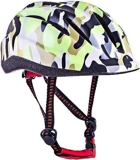 Lommer Casco Bicicleta Niño, 46 – 59 cm Mariposa Diseño Casco de Protección Casco Helmet Cascos para Niño para Bicicleta Esquí Skate Snowboard Motocicleta Patinaje Patines, Verde, 24 * 19 * 15 cm: Amazon.es: Deportes y aire libre