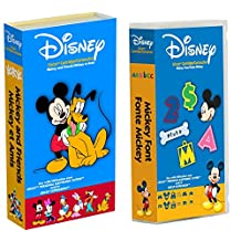 Cricut Disney Cartridge: Bundled Mickey and Friends & Mickey Fonts by Cricut