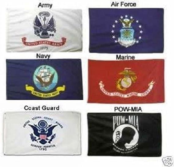 Washington Flag Set Pow Mia Wholesale Lot 2x3 USA 5 Branches Military