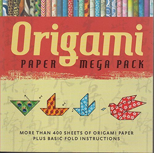 Origami Paper Mega Pack: More than 400 Sheets of Origami Paper Plus Basic Fold ()