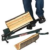 Easy Wood Spaccalegna a pedale in metallo taglia legna con cuneo incluso 3003