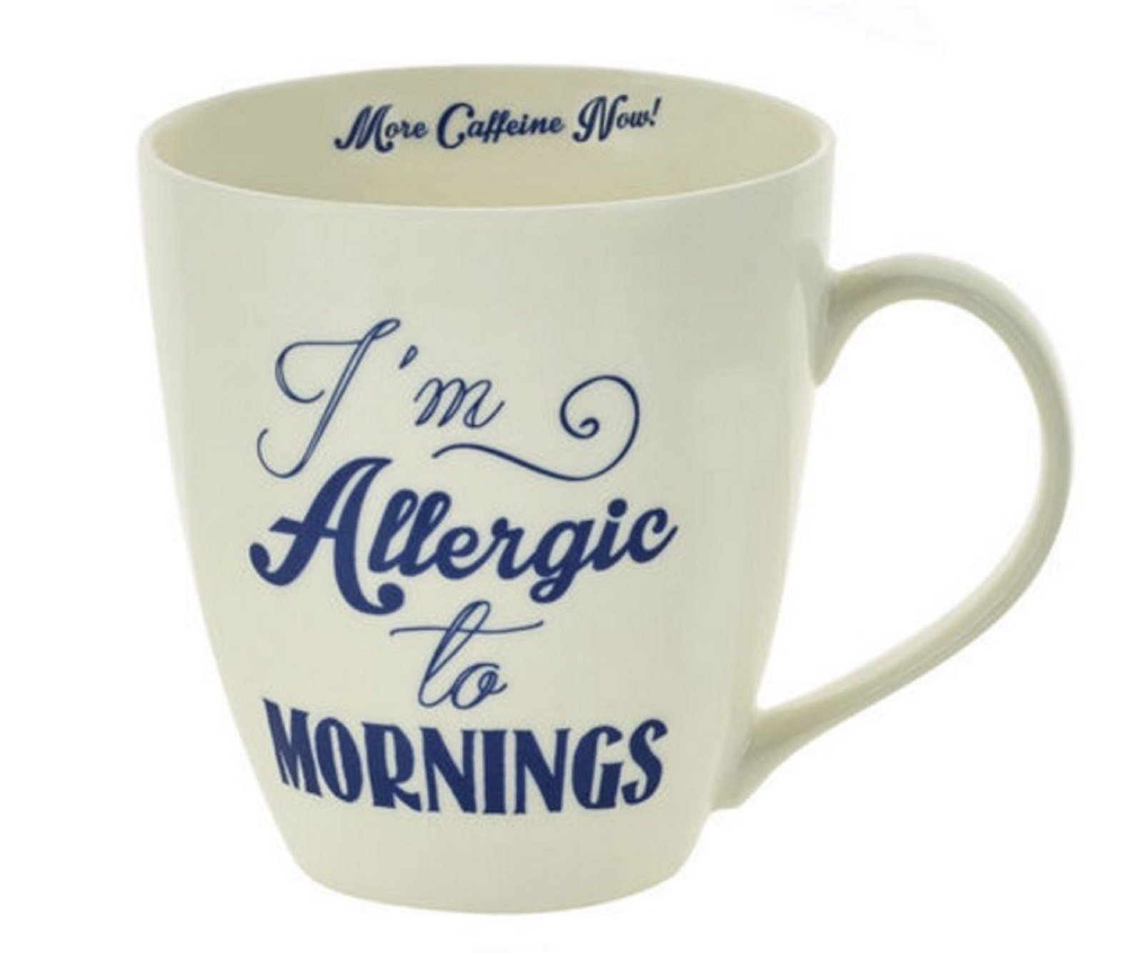 Pfaltzgraff Everyday Large Coffee Mug Im Allergic To Mornings More Caffeine Now 18 Ounces