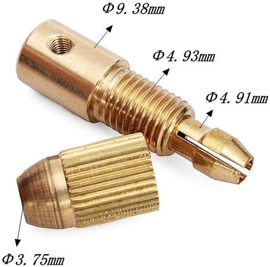 DENG XIA Punta da Roditore Set di mandrino for Trapano Micro Twist Twist da 0,5-3 mm Piccolo Trapano Elettrico