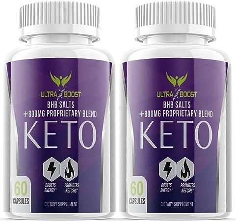 Keto Ultra X Boost Keto Supplement Diet Pills with Bhb Salts (2 Pack)
