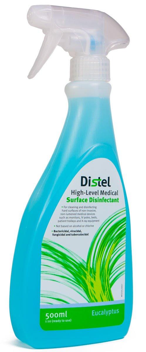 Distel High Level Medical Surface Disinfectant Spray - 500ml Eucalyptus Tristel TM302