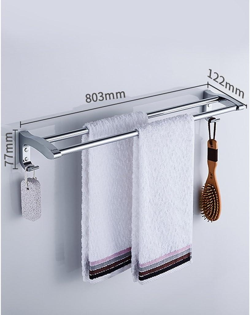 Badezimmer Handtuchhalter Edelstahl Doppelt Tuch Stange
