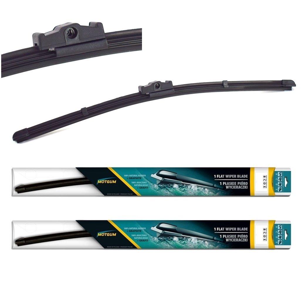 """B Windscreen Front Aero Flat Wiper Blades 28/""""28/"""" 2004-2011 PEUGEOT 407"""