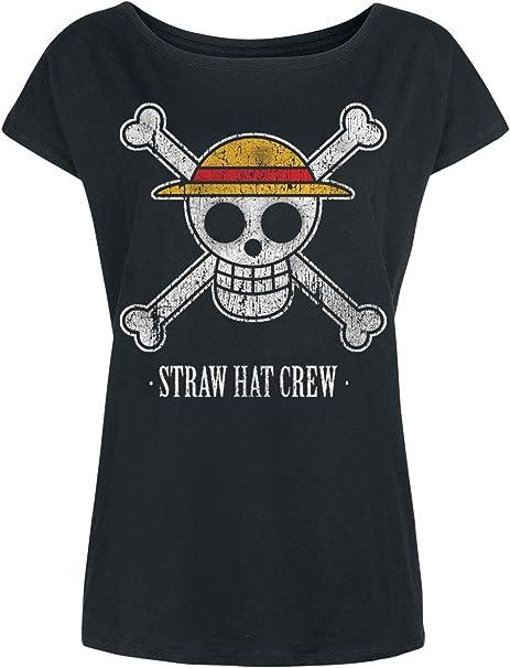 One Piece Chopper Damen T-Shirt Schwarz