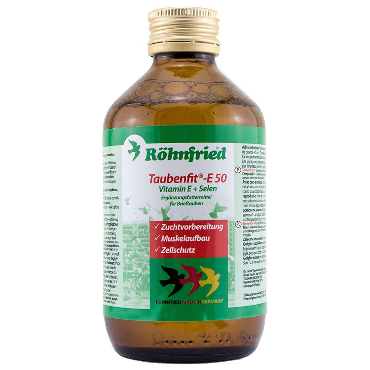 Röhnfried Taubenfit E-50 - macht jede Taube Fit auch Zuchttauben (250 ml)