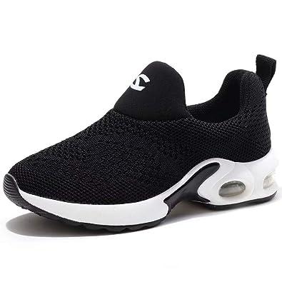 quality design d28ae e6f1c BODATU Kids Boys Girls Running Shoes Comfortable Fashion Light Weight Slip  on Cushion