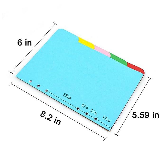 Amazon.com: izBuy - Cuaderno de tres pliegues de piel con ...