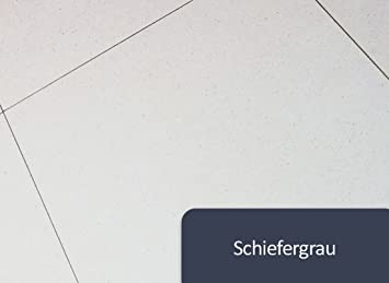 K Fliesenlack Wand Bodenfliesen Lack Seidenglänzend BEKATEQ BK - Bodenfliese schiefergrau