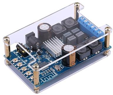 Bluetooth Amplificador Tablero,Yeeco 50W + 50W Amplificador digital Inalámbrico BT 3.0 / 4.0 /