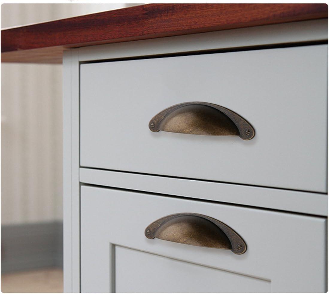 Vintage Cabinet Door Drawer Bin Handle Pull Wardrobe Knob Hardware Number 8