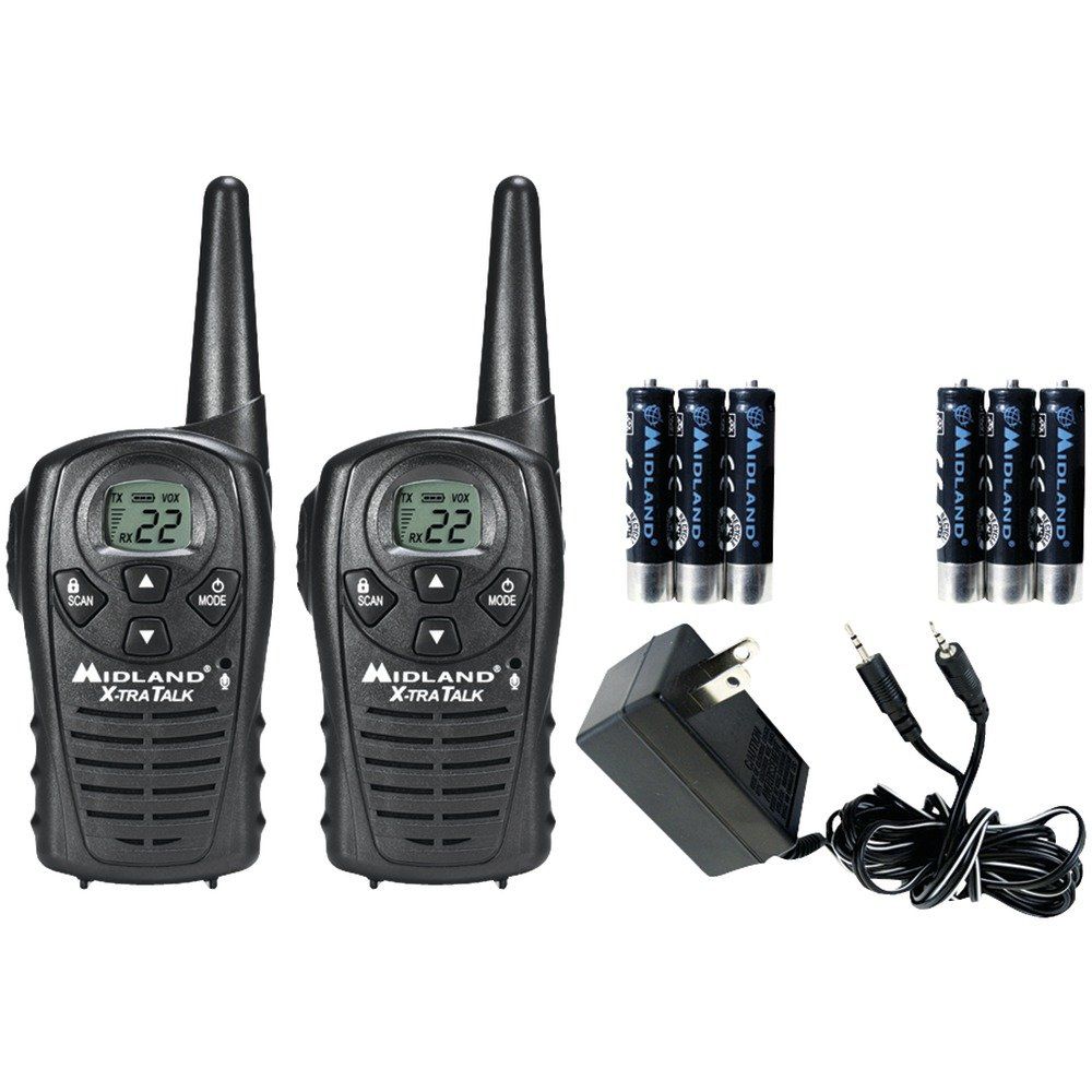 MIDLAND LXT118VP 18-Mile GMRS Radio Pair Value Pack with Charger & Rechargeable Batteries electronic consumer by Unknown (Image #1)