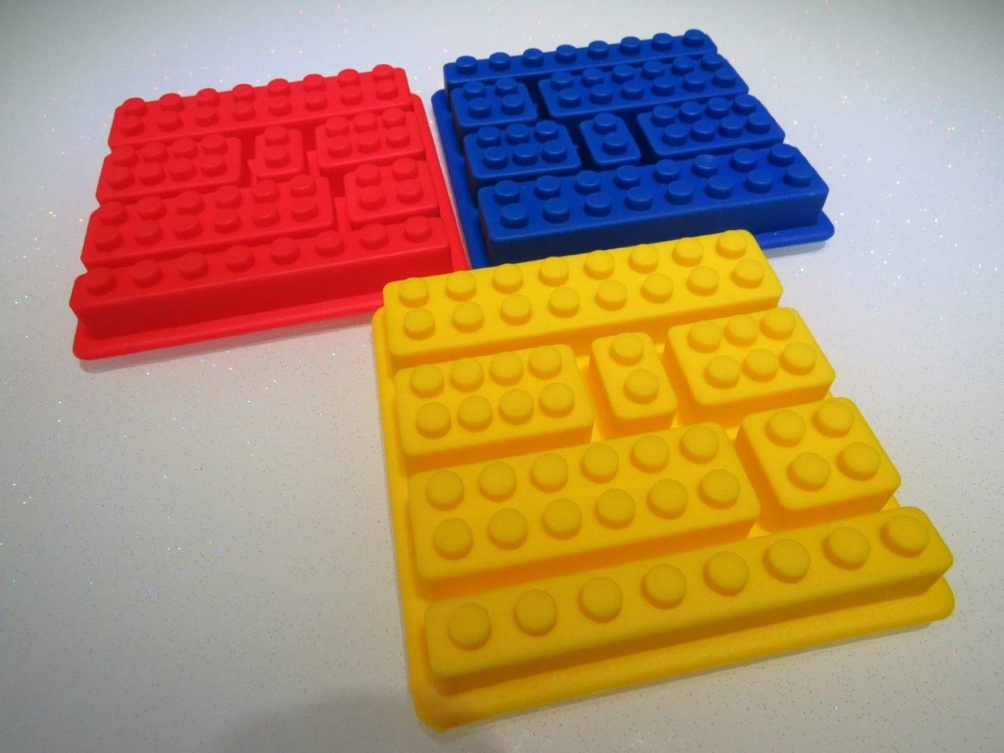 NEW 2015 Building Brick Silicone Chocolate Sugarpaste Fondant Icing Mould (Square) own label