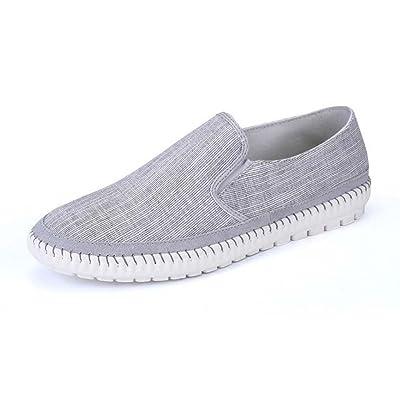 ZXCV Chaussures de plein air Trend Wild Board Chaussures Loisirs Sports Boys Toile Chaussures ( Couleur : Gris , taille : 39 )