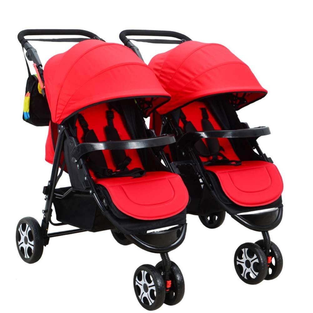 GZF Cochecito de Bebé de Confort Cochecito de bebé gemelo ...