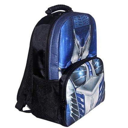 Transformers Mochila Escolar Para Niños Adolescentes Ligeros Mochilas Para Niños Y Niñas Bolsas Escolares De 8-15 Años,Blue-42 * 30.5 * 18cm: Amazon.es: ...