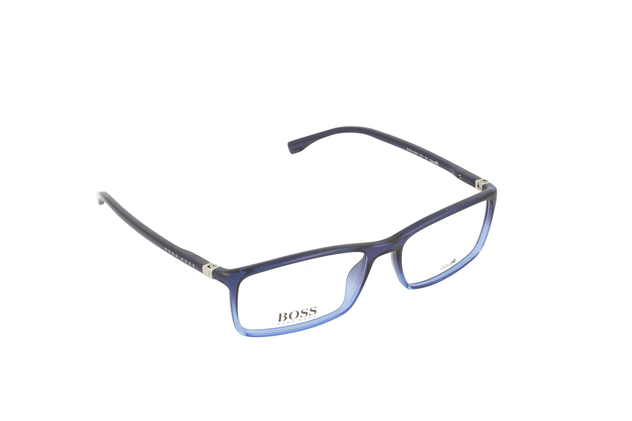 Hugo Boss eyeglasses BOSS 0680 TU4 Acetate Blue
