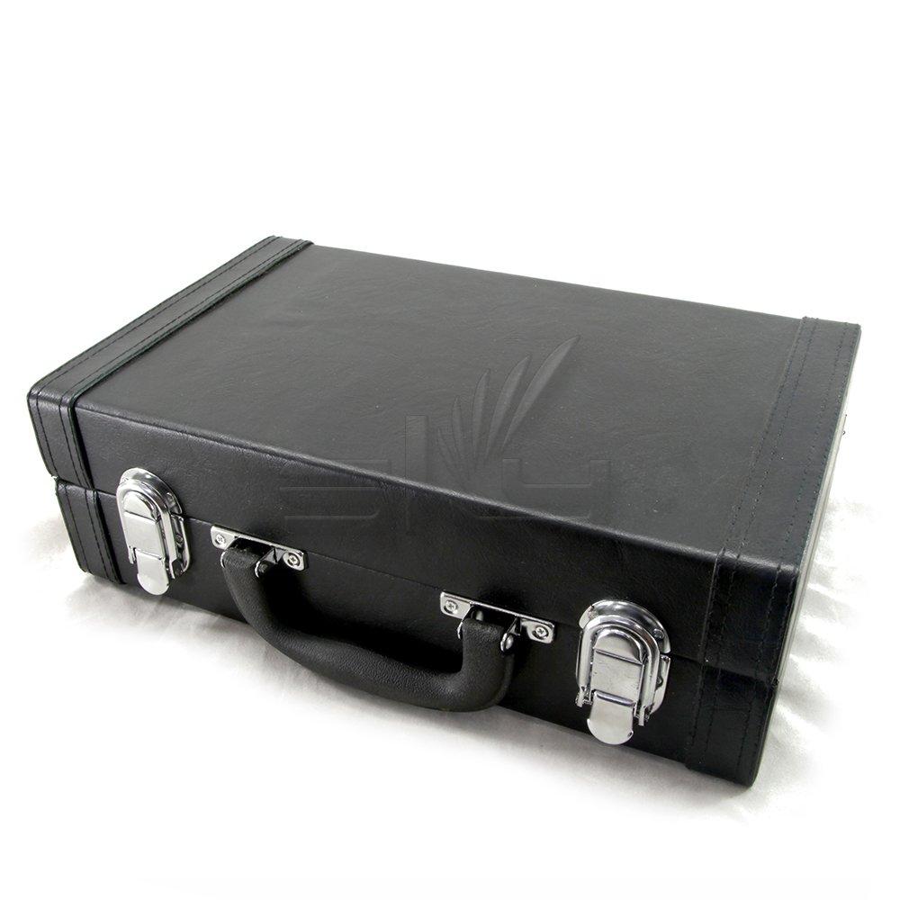 Sky SKYCLHC601 Clarinet Imitation Leather Case, Black Color, Bb Sky Music