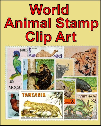 (World Animal Stamp Clip Art)