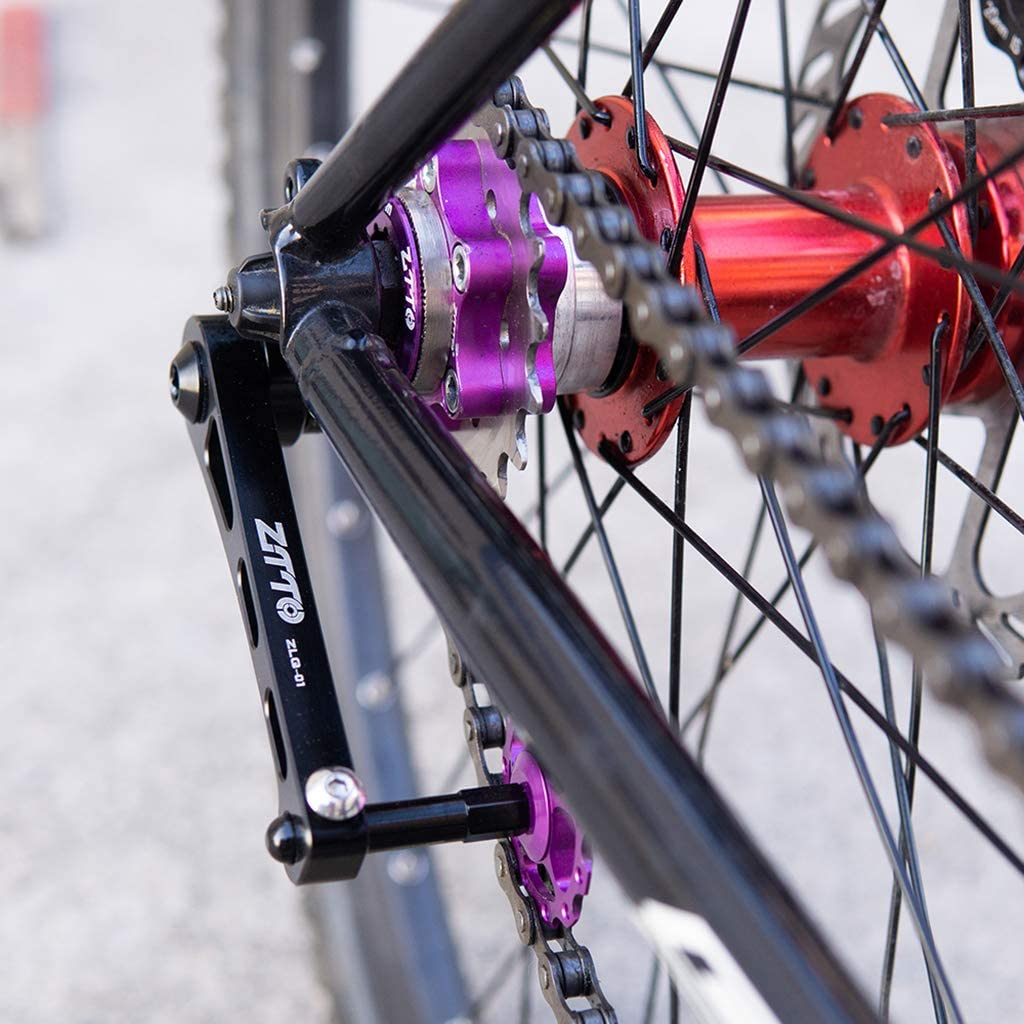 perfeclan Tensor de Aluminio Bicicleta MTB Tensor de Cadena ...