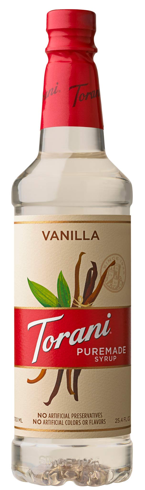 Torani Puremade Vanilla Syrup, 750 mL