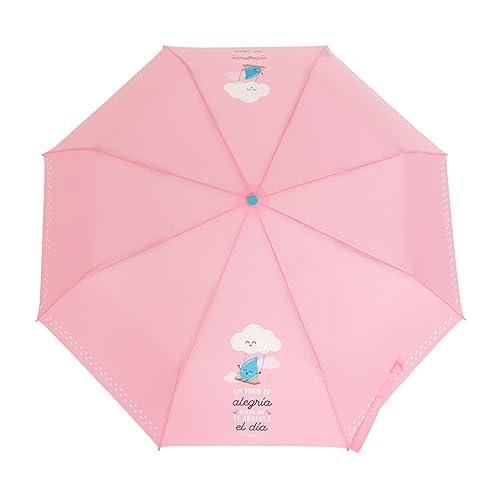 Paraguas mediano Mr. Wonderful: Un poco de alegría seguro que te arregla el día