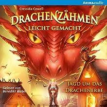 Jagd um das Drachenerbe (Drachenzähmen leicht gemacht 9) Hörbuch von Cressida Cowell Gesprochen von: Benedikt Weber