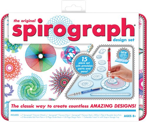 Kahootz Spirograph Design Tin Set product image