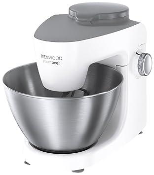 Kenwood KHH321 Robot de cocina, 1000 W, 5 velocidades variables, función Pulse, bol de 4,3 l, color plata Acero Inoxidable, plástico, Blanco: Amazon.es: ...