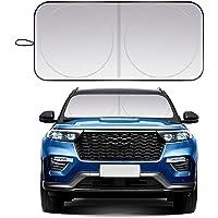 Beauty HAO Foldable Car Front Window Sunshade Heat Shield Cover