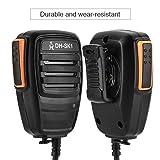 2 PIN Handheld Walkie Talkie Speaker Mic for
