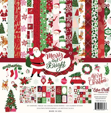 Echo Park Merry & Bright Collection Kit (MB160016TM)