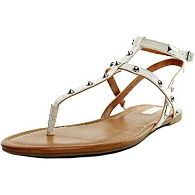 INC International Concepts Womens Mirabai Split Toe Bright White Size 6.0