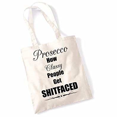 Printed Tote Bag Slogan Women s Gift Idea 100% Cotton