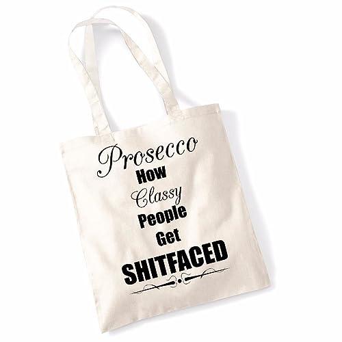 ba7f78ed66dd Amazon.com: Printed Tote Bag Slogan Women's Gift Idea 100% Cotton ...