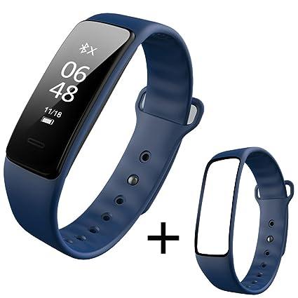 ZfgG Relojes Inteligentes Pulsera Inteligente para Deportes Frecuencia cardíaca Ritmo Presión Arterial Reloj Paso Monitoreo del