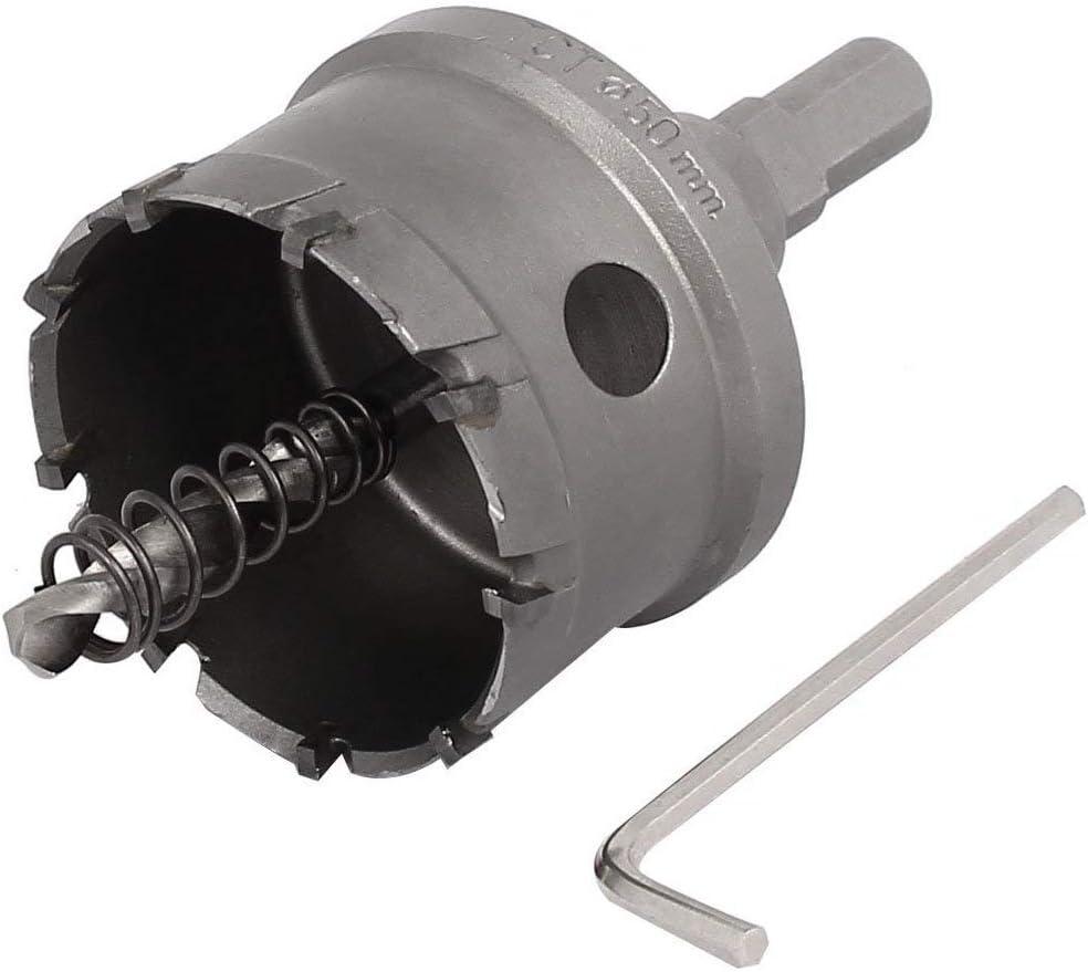 32mm Cutting Dia 70mm Long HSS Spring Loaded Twist Drill Bit Hole Saw Cutter