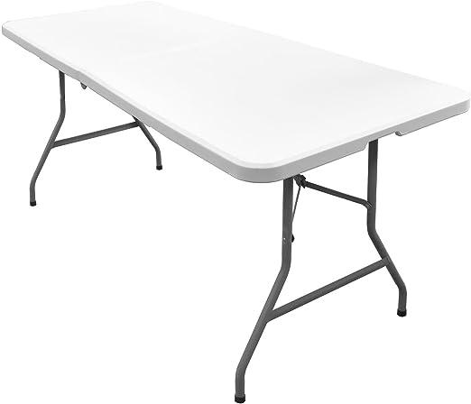 Tavoli Pieghevoli Da Mercatino.Tavolo Pieghevole 1 5 M Picnic Campeggio Bbq Banchetto Da Giardino