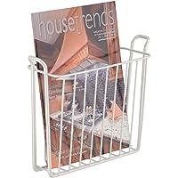 mDesign revistero - Revistero pared para el baño