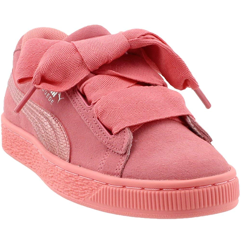 96a2ab92ba9 Galleon - PUMA Unisex-Kids Suede Heart Snk