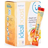 IdealBoost, Weight Loss Drink Mix Packets, Peach Mango, w/ Hunger Blocking and Energy Blends, 30 Servings…