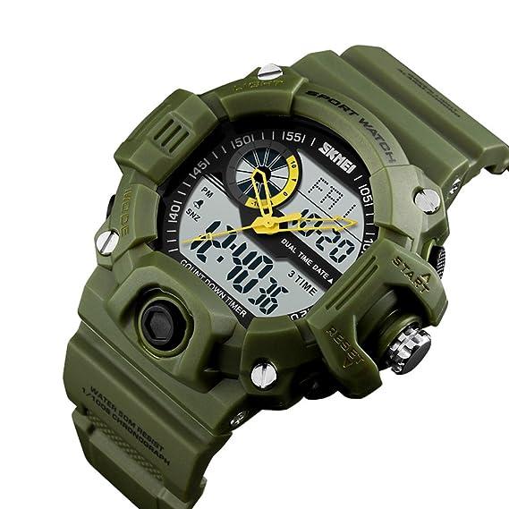 Hombre Digital Reloj Digital/Reloj De Pulsera/Reloj Militar/Reloj Deportivo Japonés Despertador