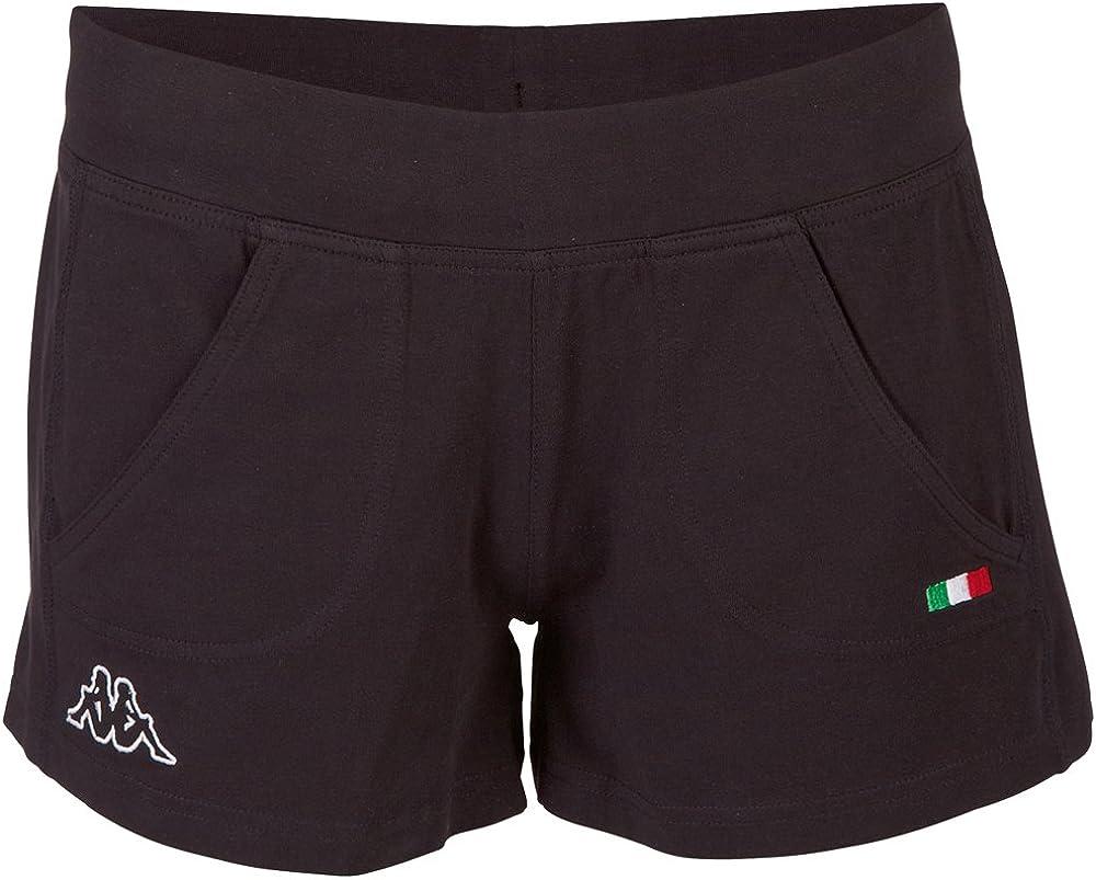 Kappa Shorts Tiffany Women - Pantalones Cortos Deportivos para Mujer
