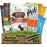 OneStopPaleoShop - Keto To Go Box - Epic, Bulletproof, Vital Proteins, Chomps, Pili Nuts, and MORE!